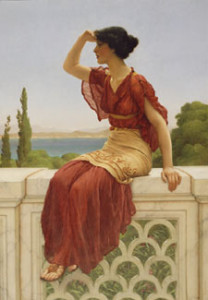 The Signal by John William Godward 1899